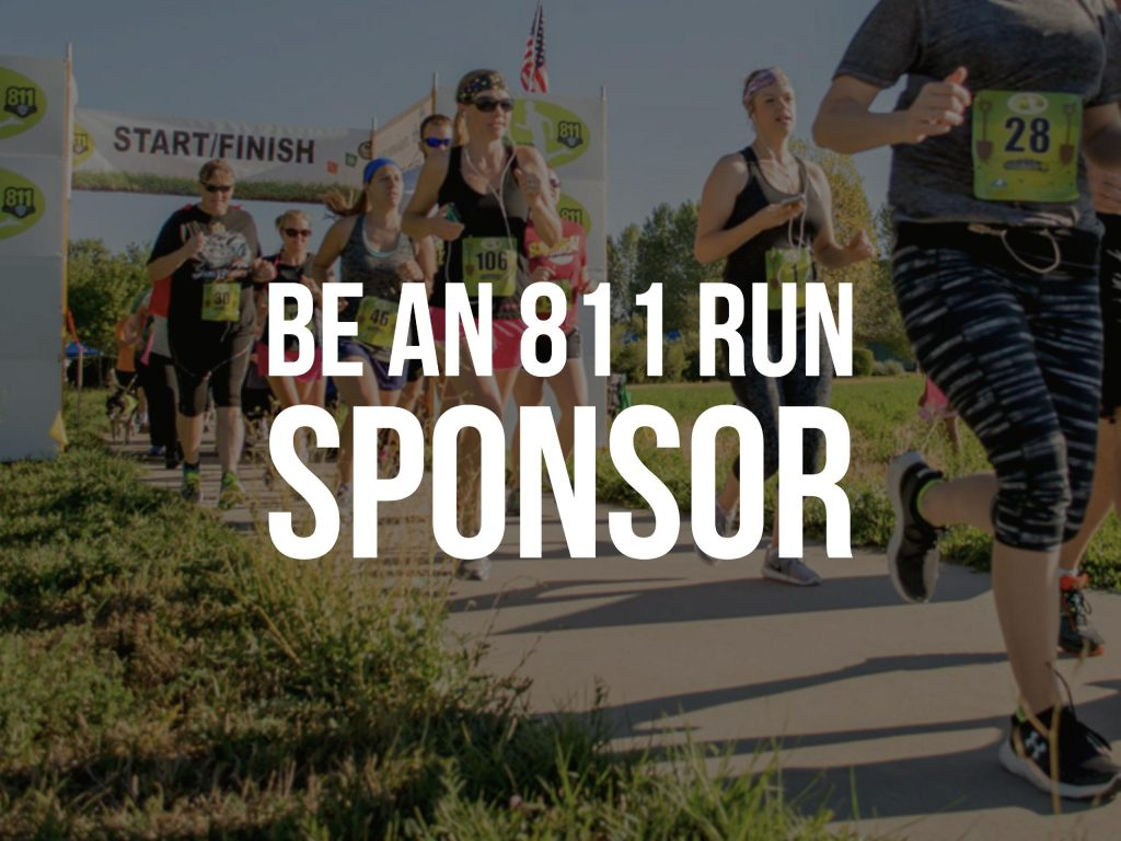 811 Run Sponsor Graphic