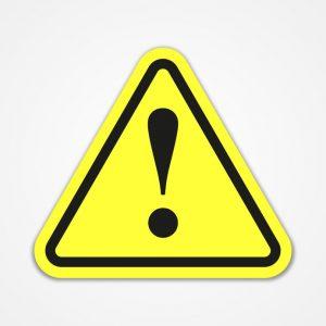 danger warning attention sign