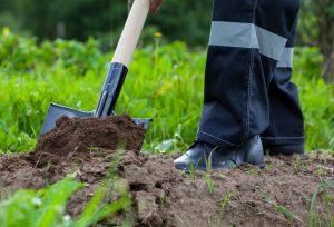 gardening excavation