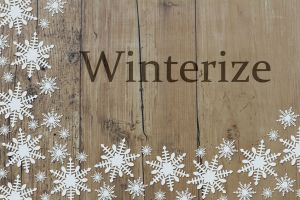 winter yard maintenance
