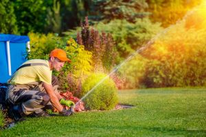 schedule an underground cable locator specialist prior to diiging to repair a sprinkler system