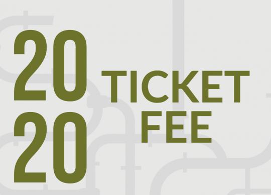 2020 Ticket Fee