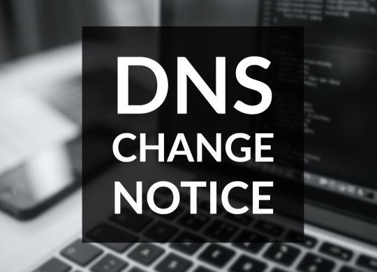 DNS Change 2020