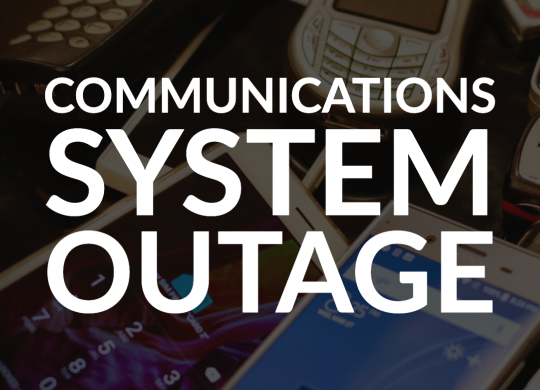 Outage Post 4-21-2020