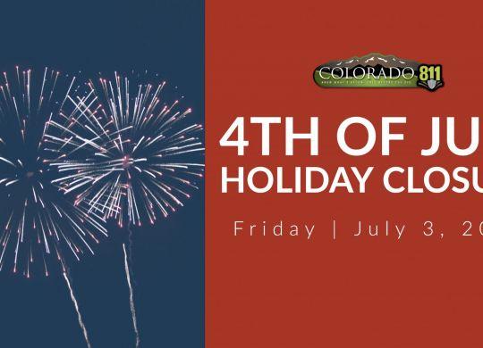 4th of July Holiday Closure 2020