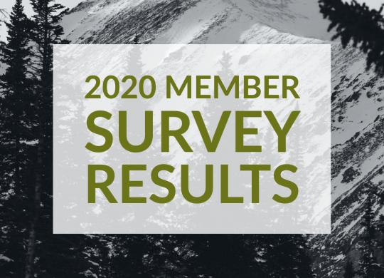 2020 Member Survey Results Image
