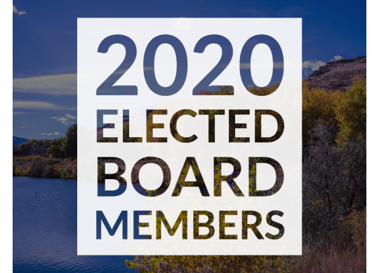Newly Elected Board Members 2020